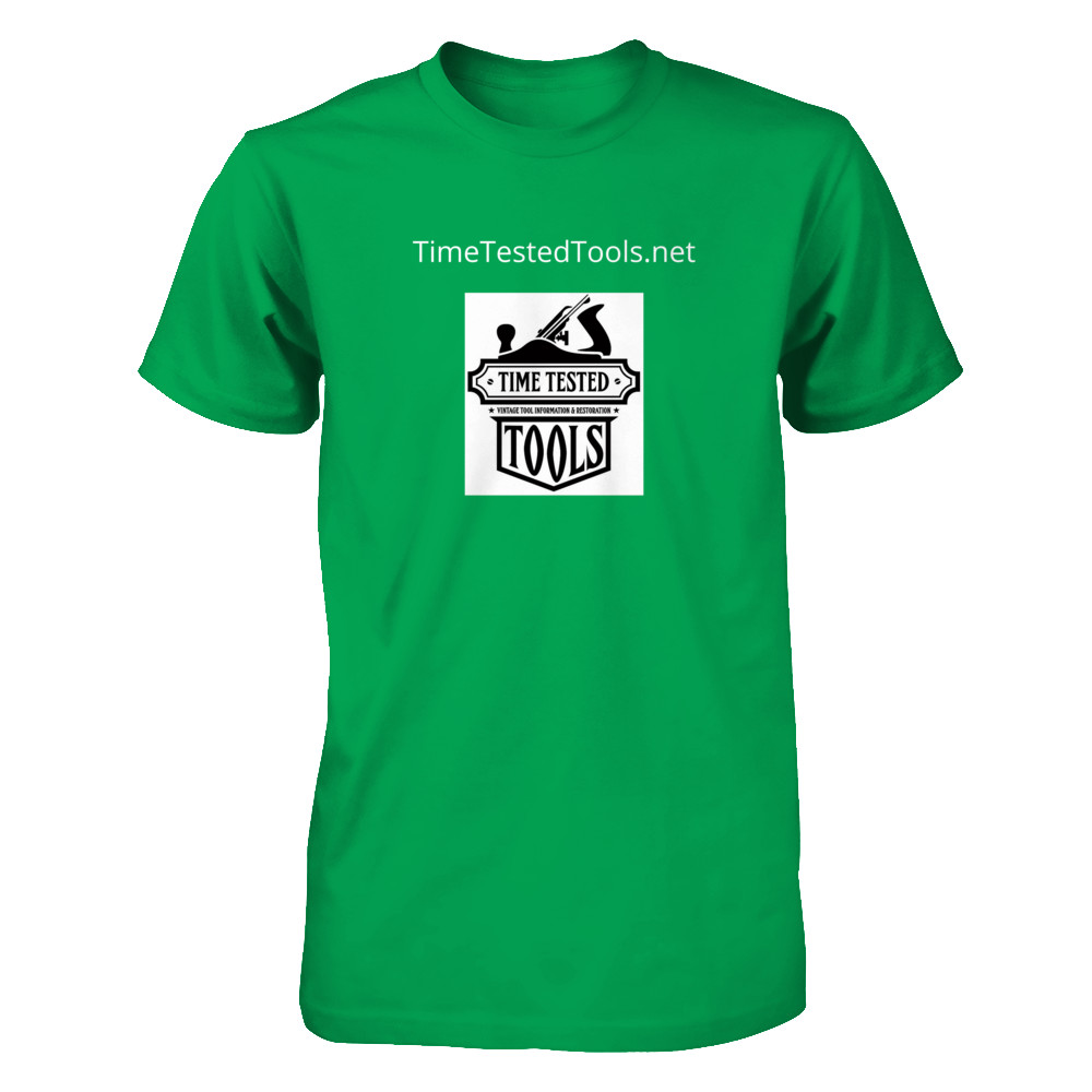 TimeTestedTools T with logo front and back