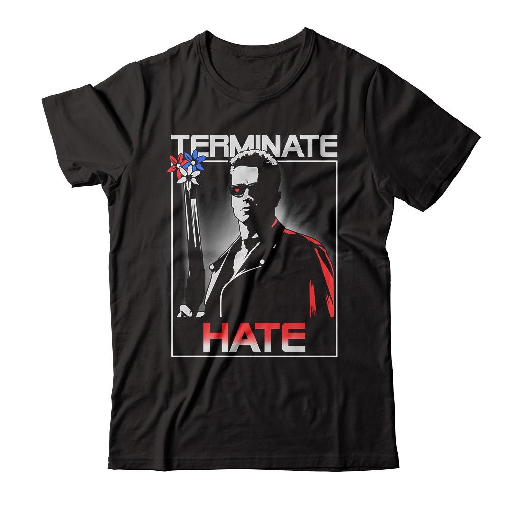 "Arnold Schwarzenegger ""Terminate Hate"" Tee"