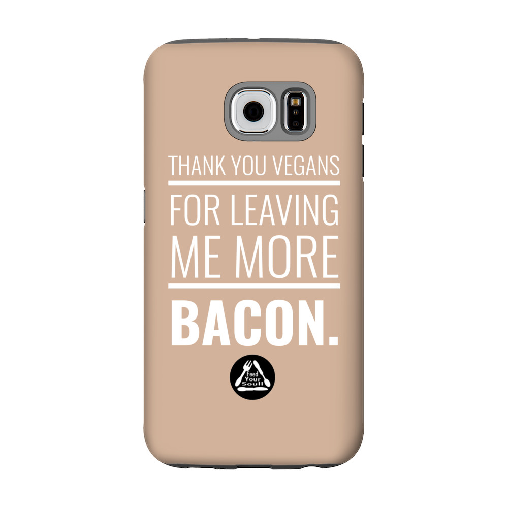Thank you Vegans. Phone Case.