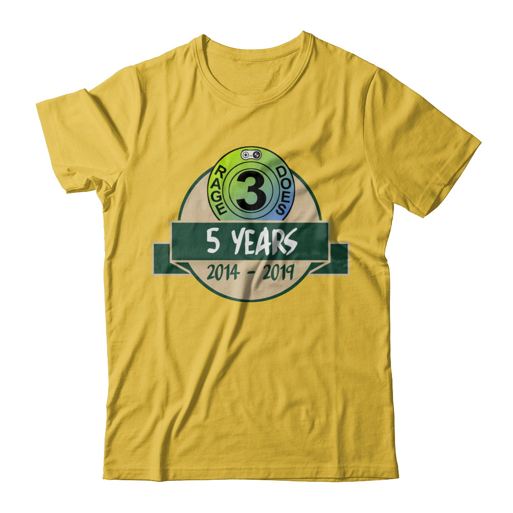 """Rage3does """"5 Years"""" Design"""