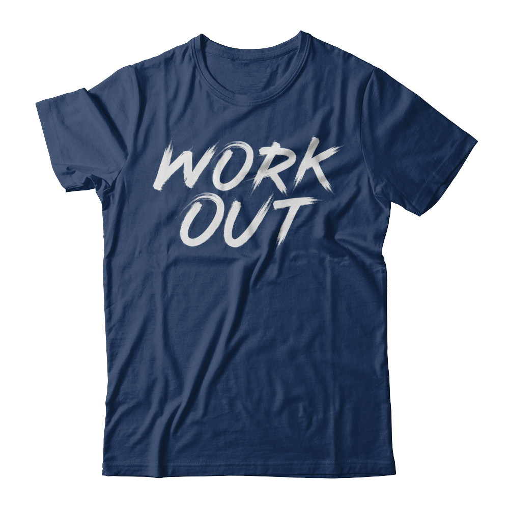 Work Out Tee Fitted Unisex