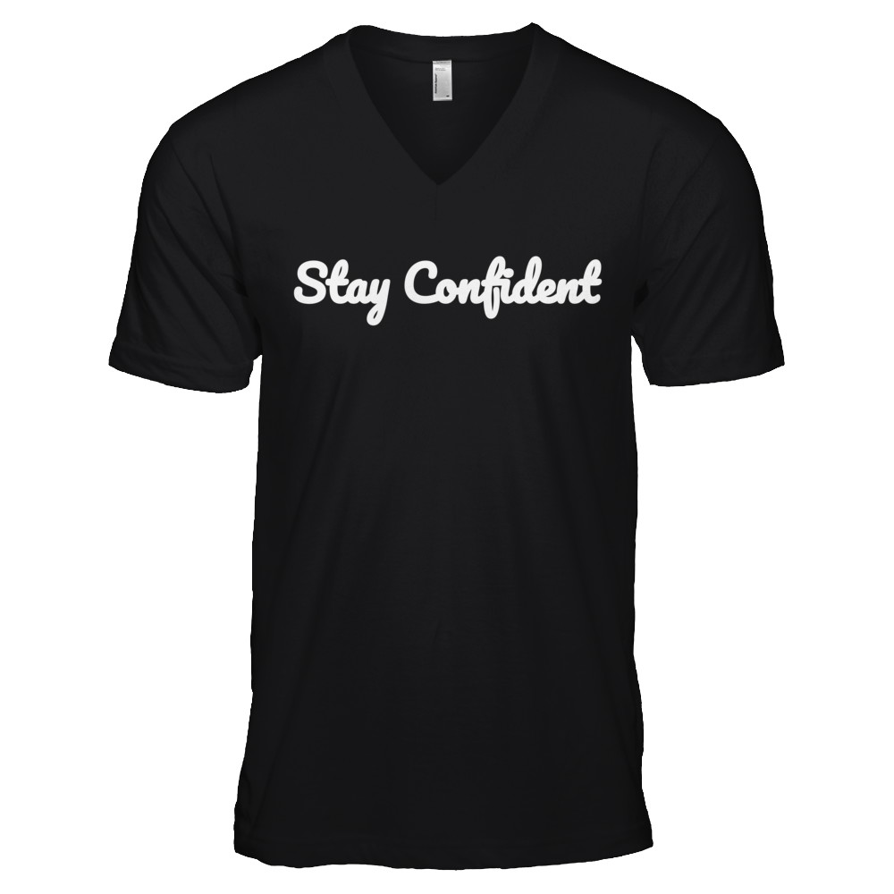 Stay Confident Original Dark V-Neck