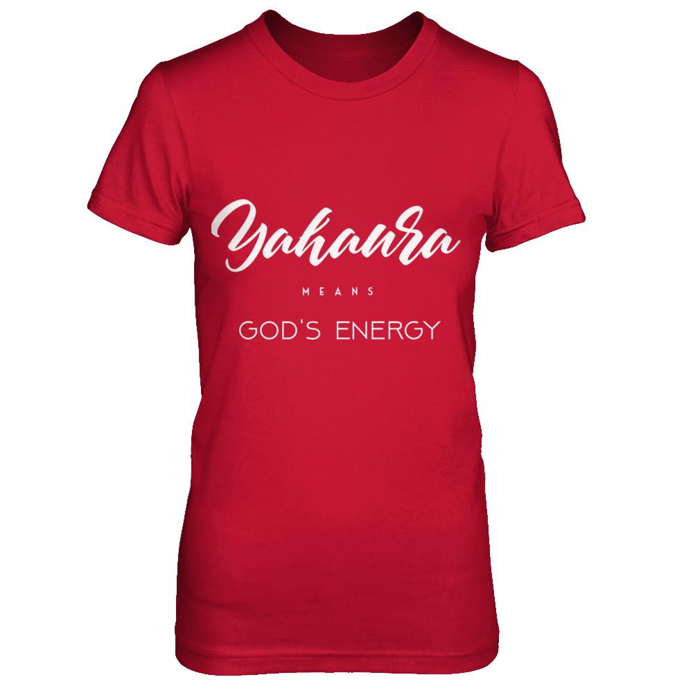 Yahaura Means God's Energy