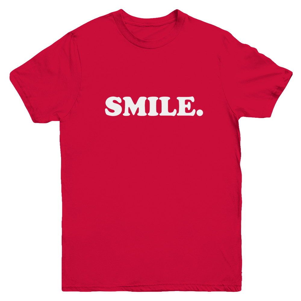 SMILE YOUTH TEE (Colours Available)
