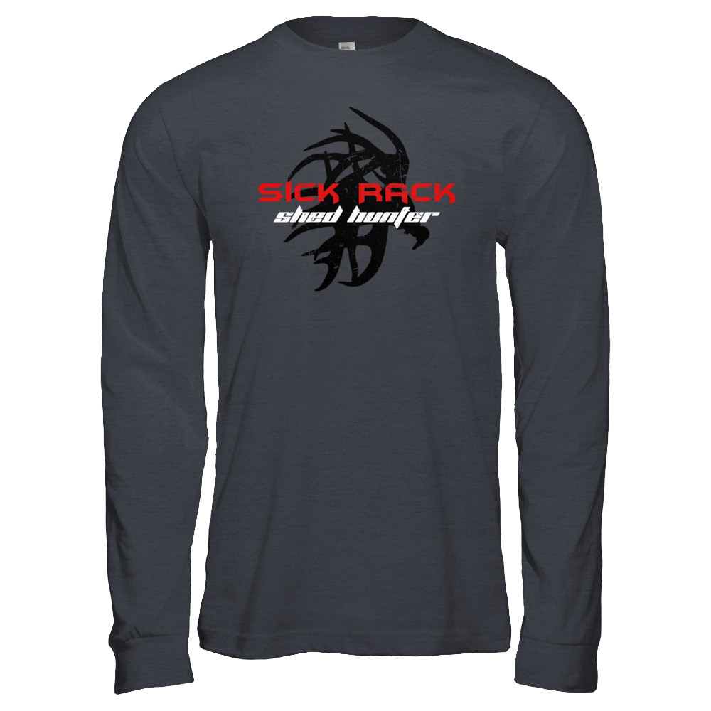 Sick Rack Shed Hunter Long Sleeve Red