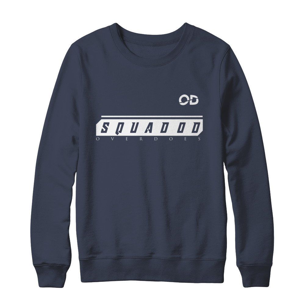 """SquadOD's Official """"#OverDoesUs"""" edition Apparel"""
