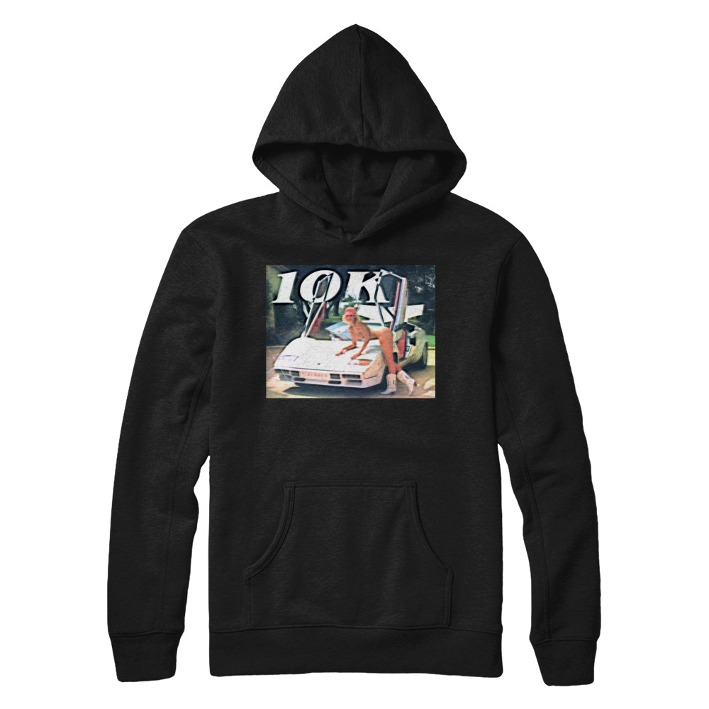 10k (Thank You So Much) BLACK Hoodie