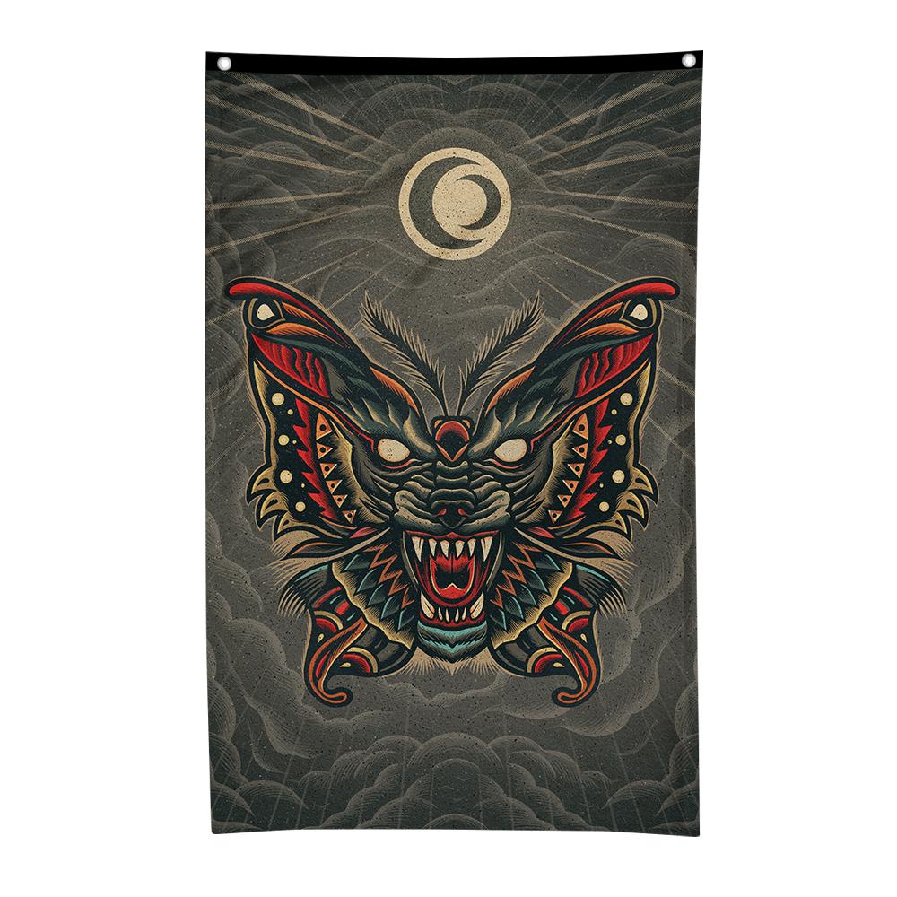 Wolfmoth Flag