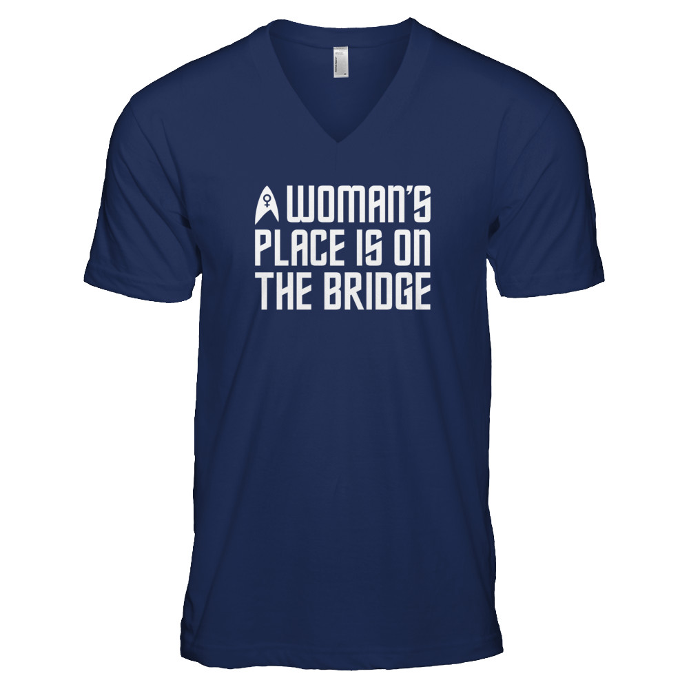 A Woman's Place is on the Bridge