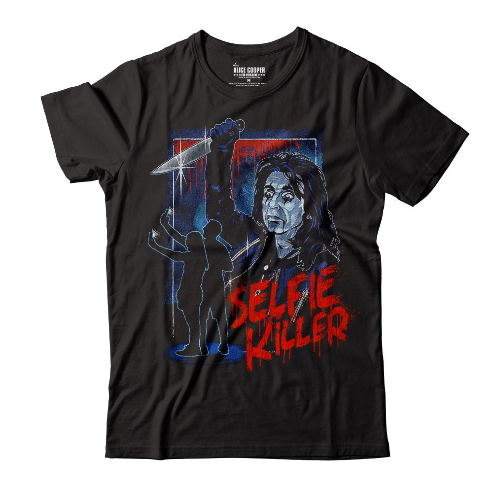 """Alice Cooper """"Selfie Killer"""" Tee"""