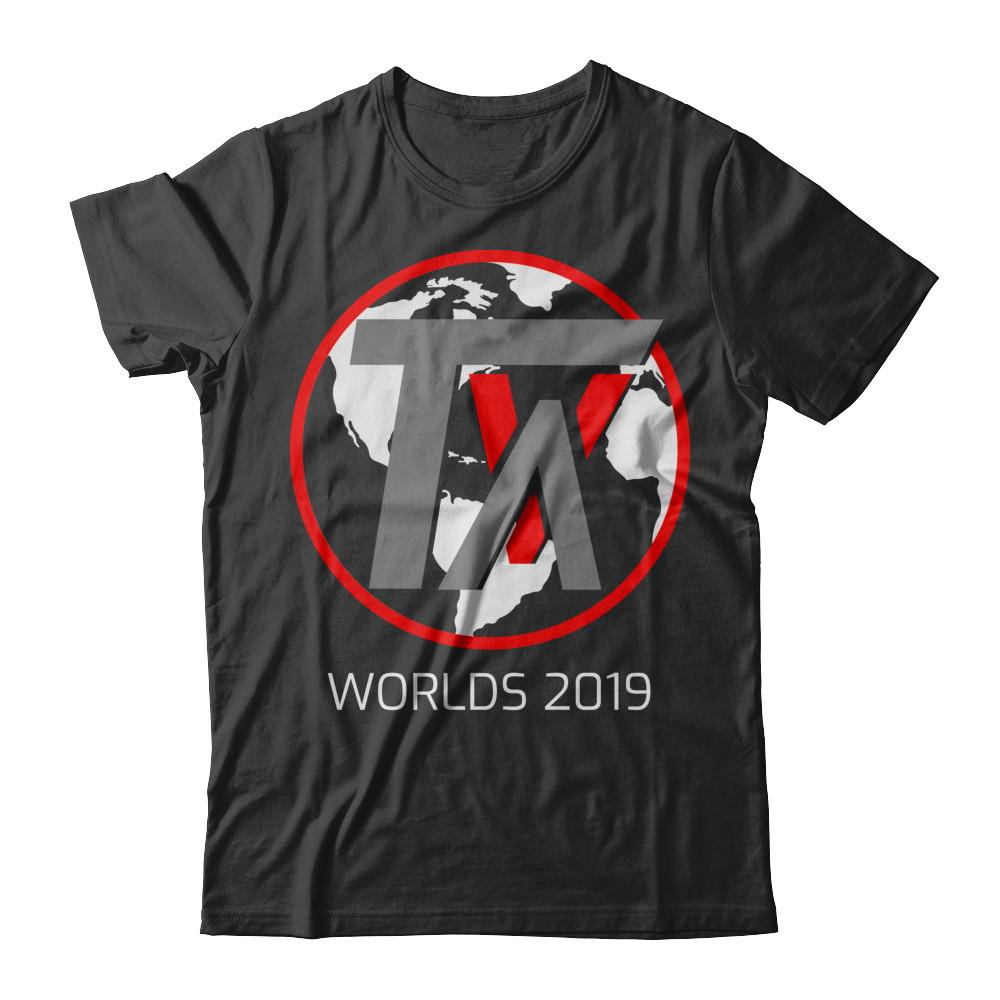 TVA Worlds Black T-Shirt