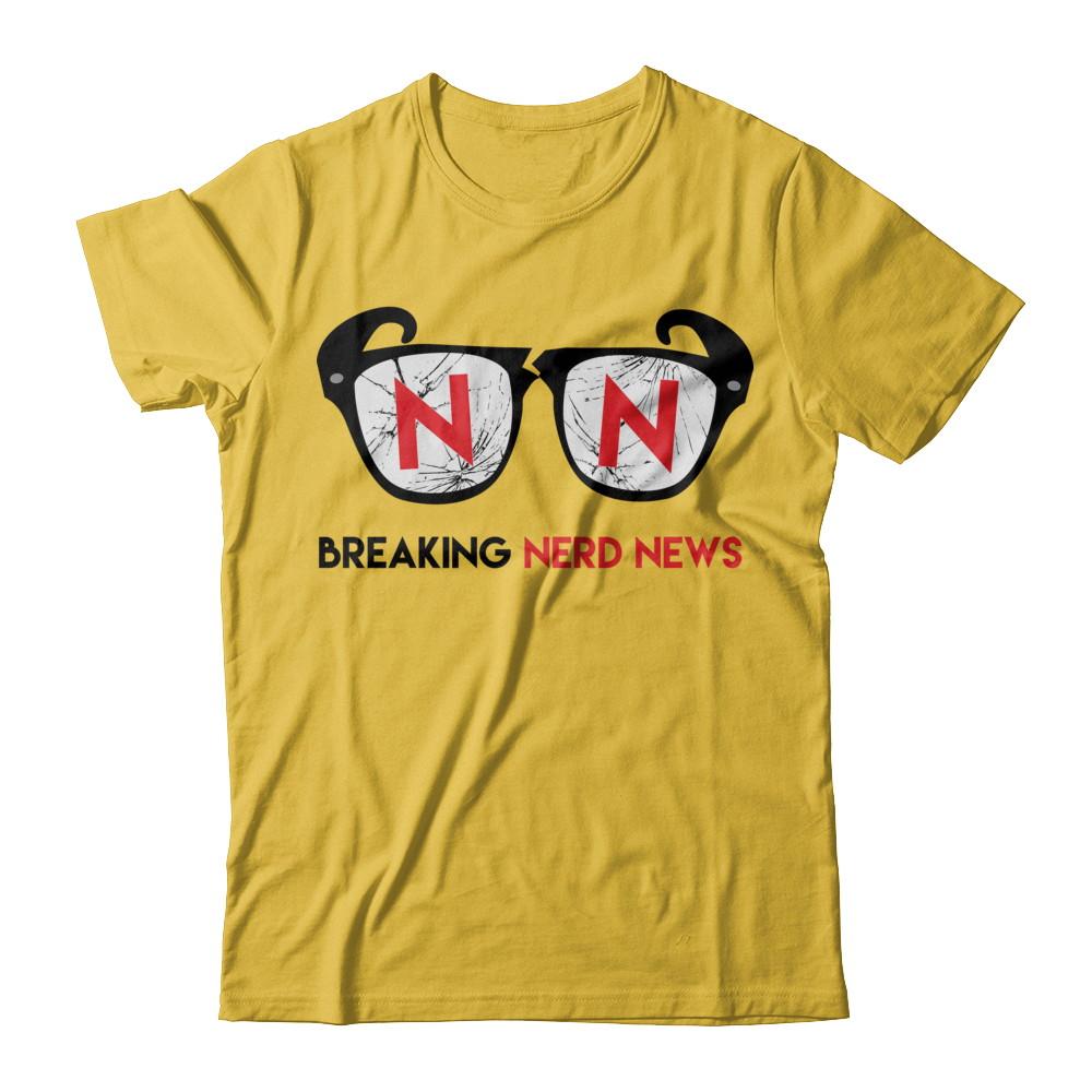 The Official Breaking Nerd News Tee!