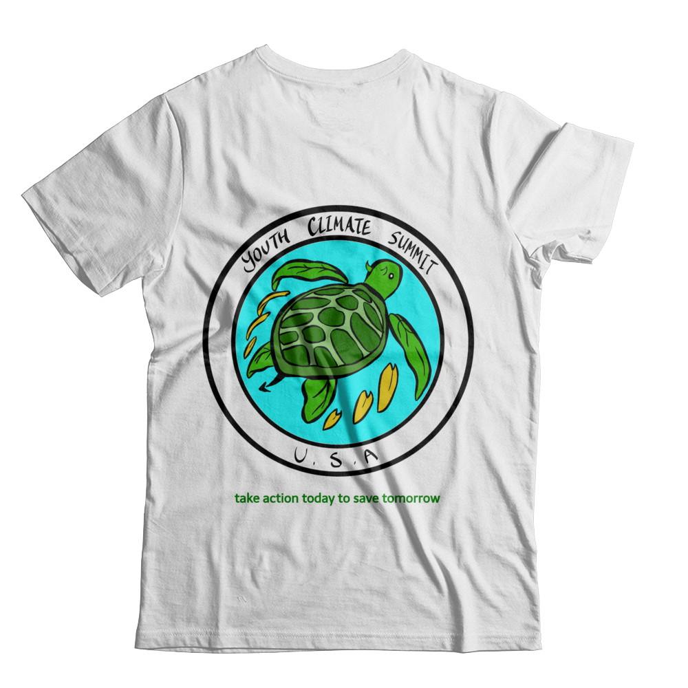 Youth Climate Summit USA Leaf Turtle Logo