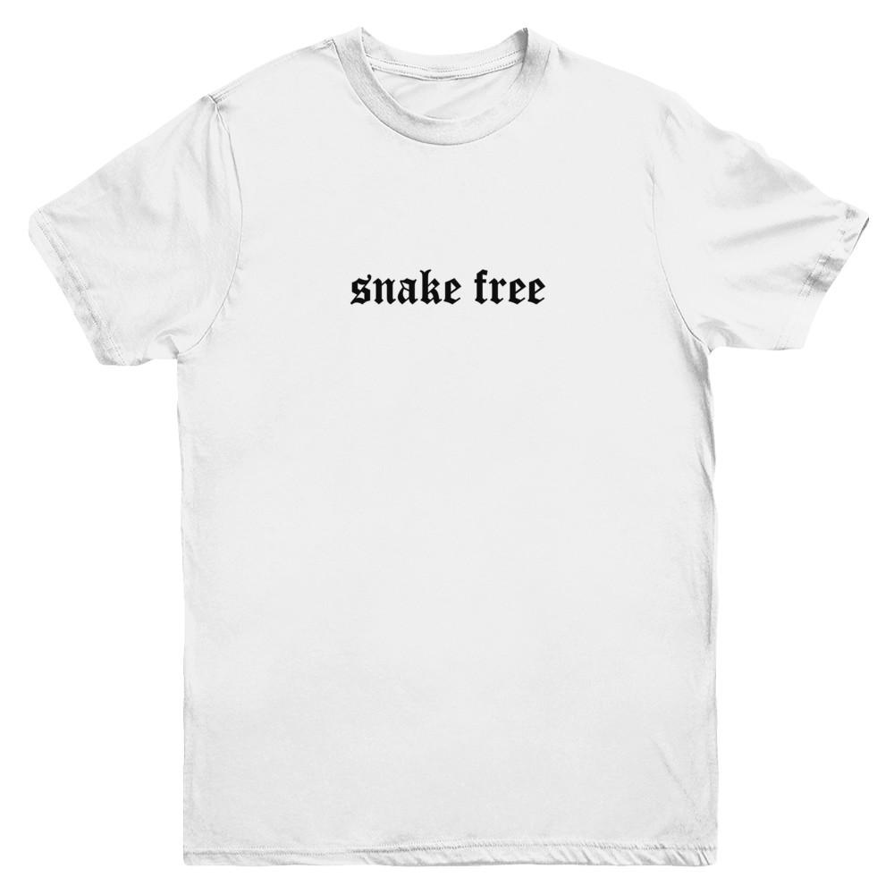snake free Black Logo T-Shirt