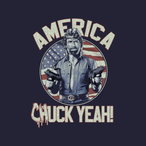 """Official Chuck Norris """"America"""" Tee"""