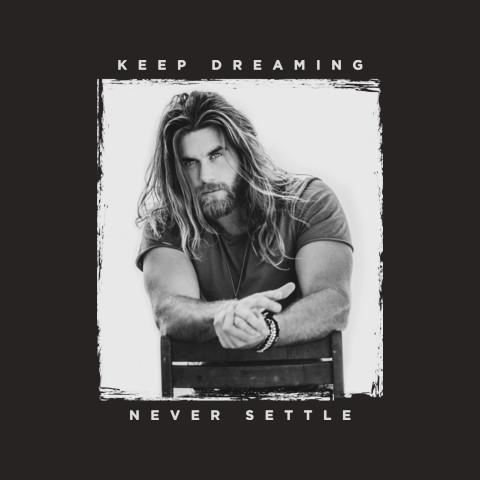 Official Brock O'Hurn 'Never Settle' Tee