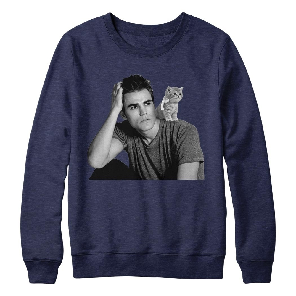 Paul Wesley Limited Edition Cat Tee