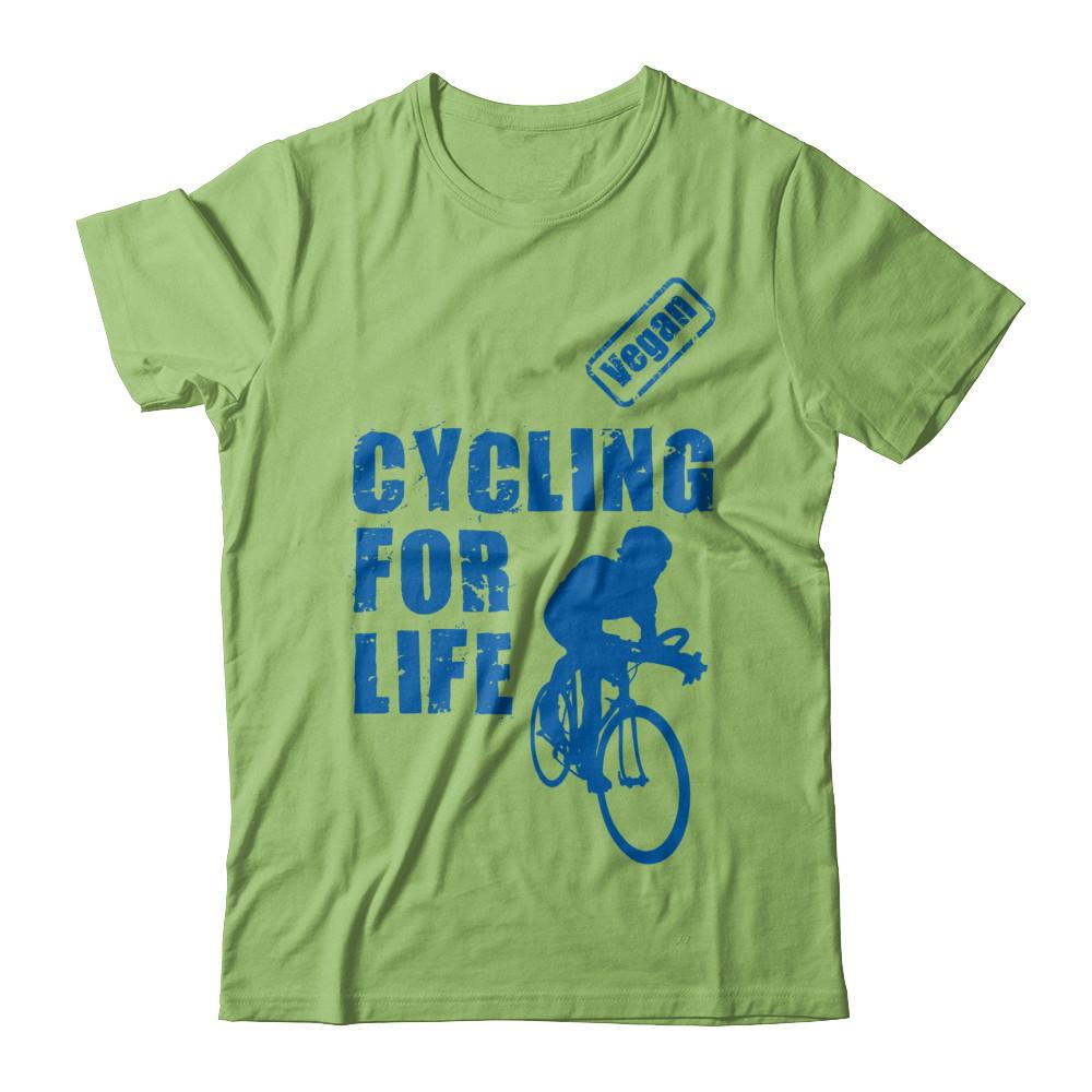 Vegan Cycling Tshirt