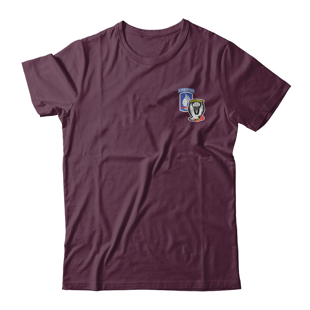 1-503rd Infantry SHORT SLEEVE PT SHIRT