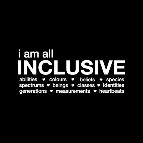 I am all Inclusive
