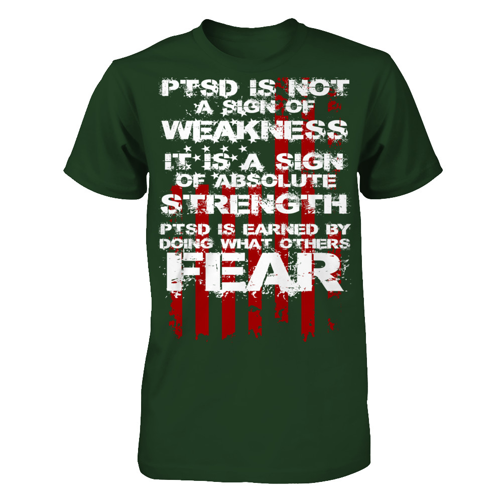 PTSD is a sign of strength