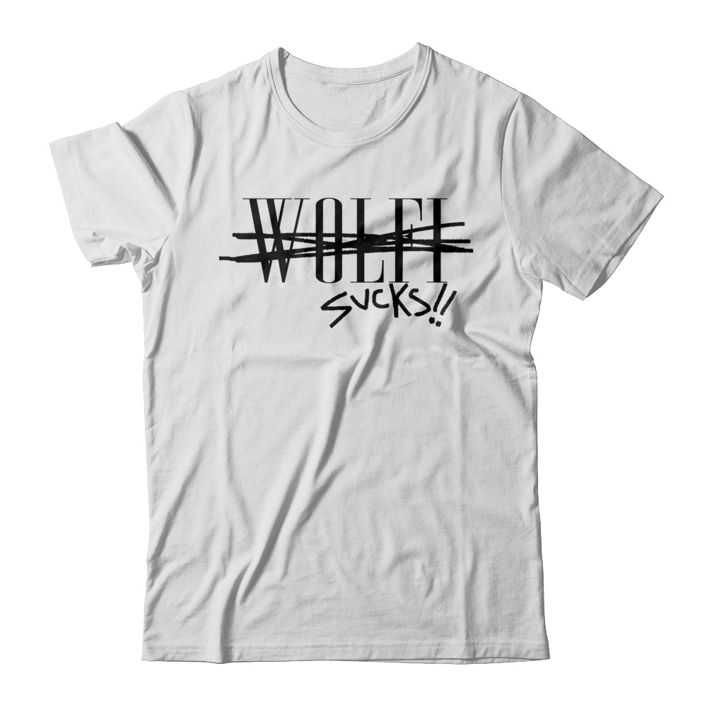 """wolfi sucks"" Tee"