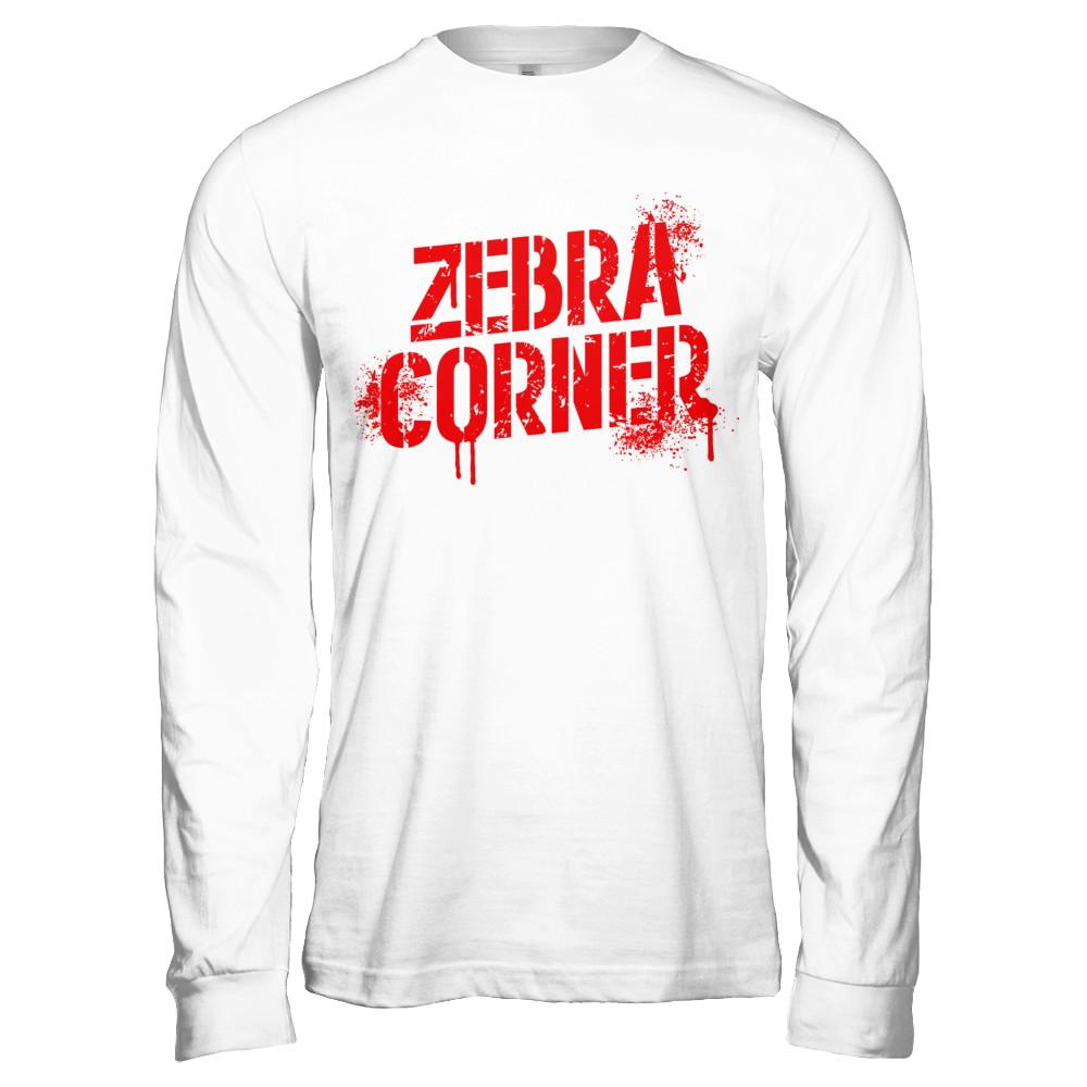 Zebra Corner Long Sleeve Tee