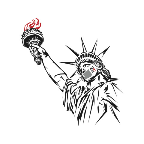 Official NOH8 Liberty Tee