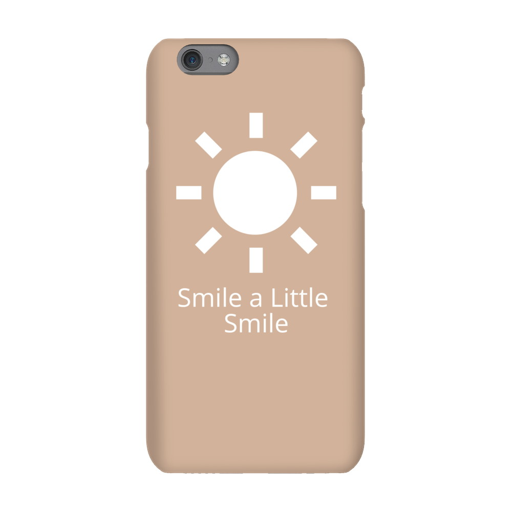 Smile a Little Smile iPhone Case