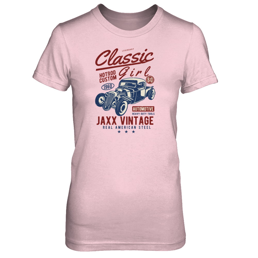 Women's - Classic Girl Vintage T-Shirt