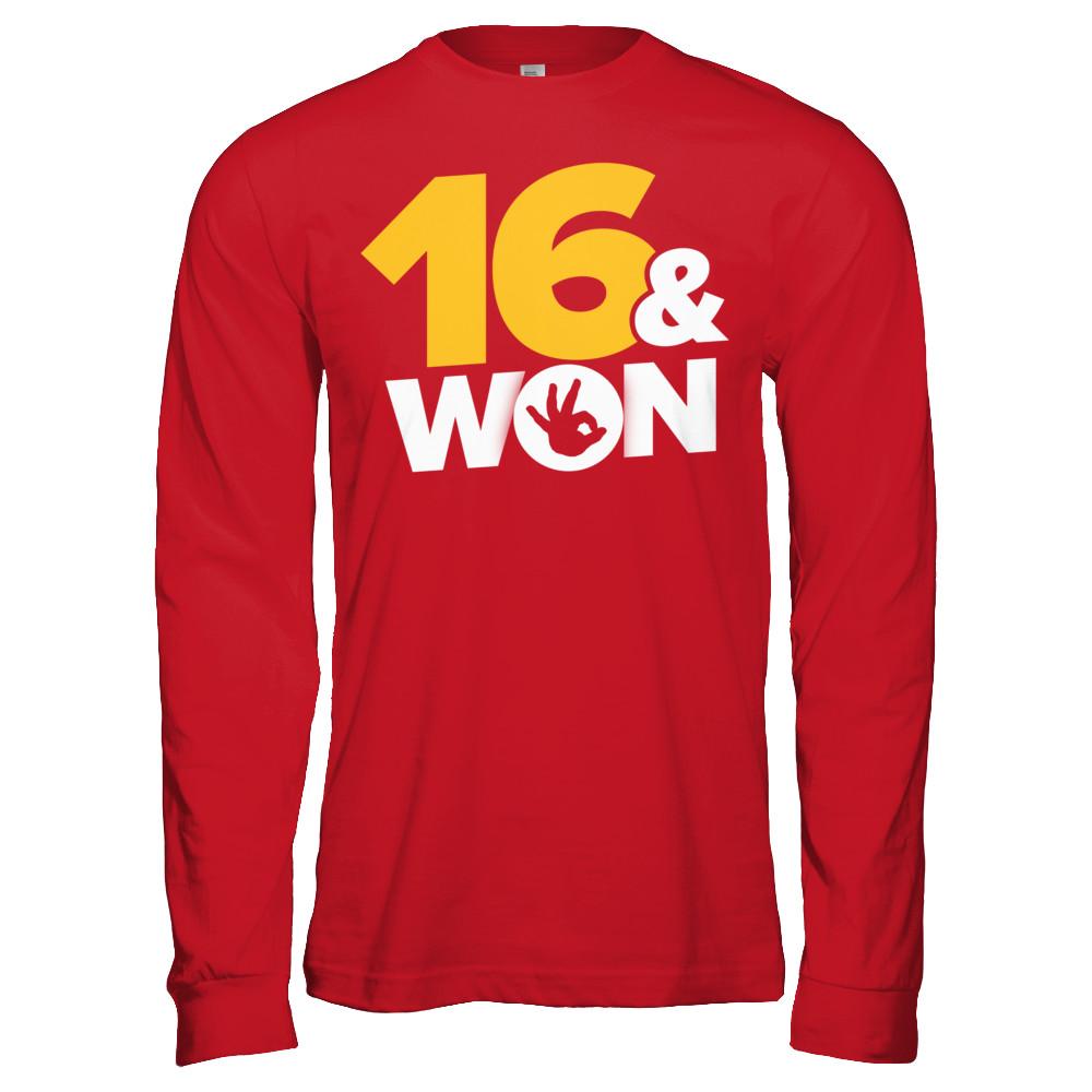 16 & Won
