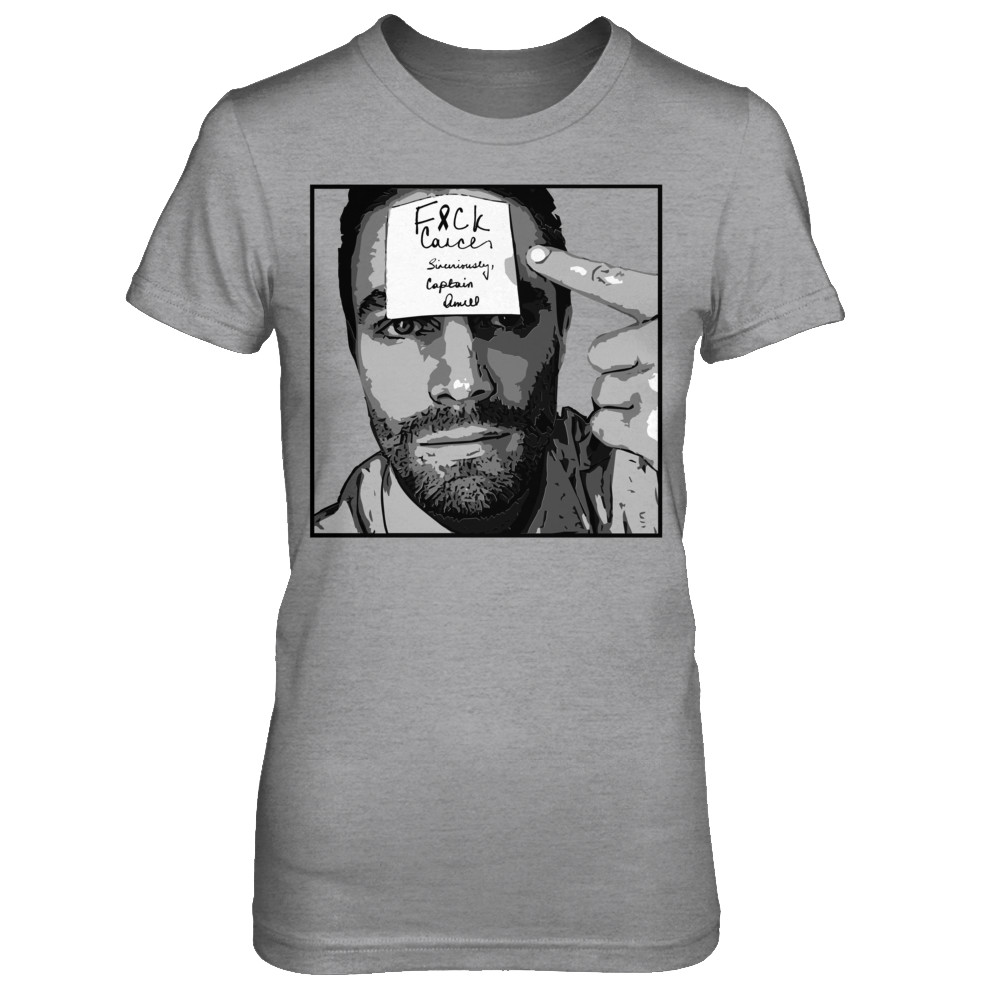 Stephen Amell for F&CK Cancer T-Shirt: