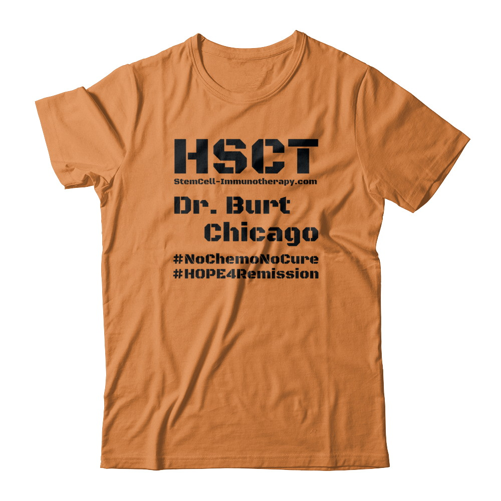 Adult HSCT- Black Text Shirts