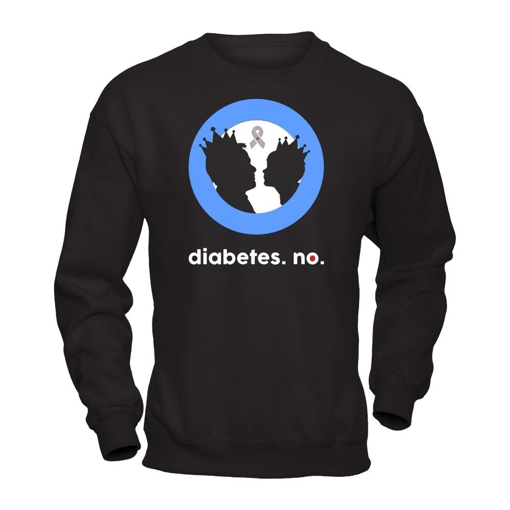 """Mark Sheppard """"diabetes. no."""" Tee"""