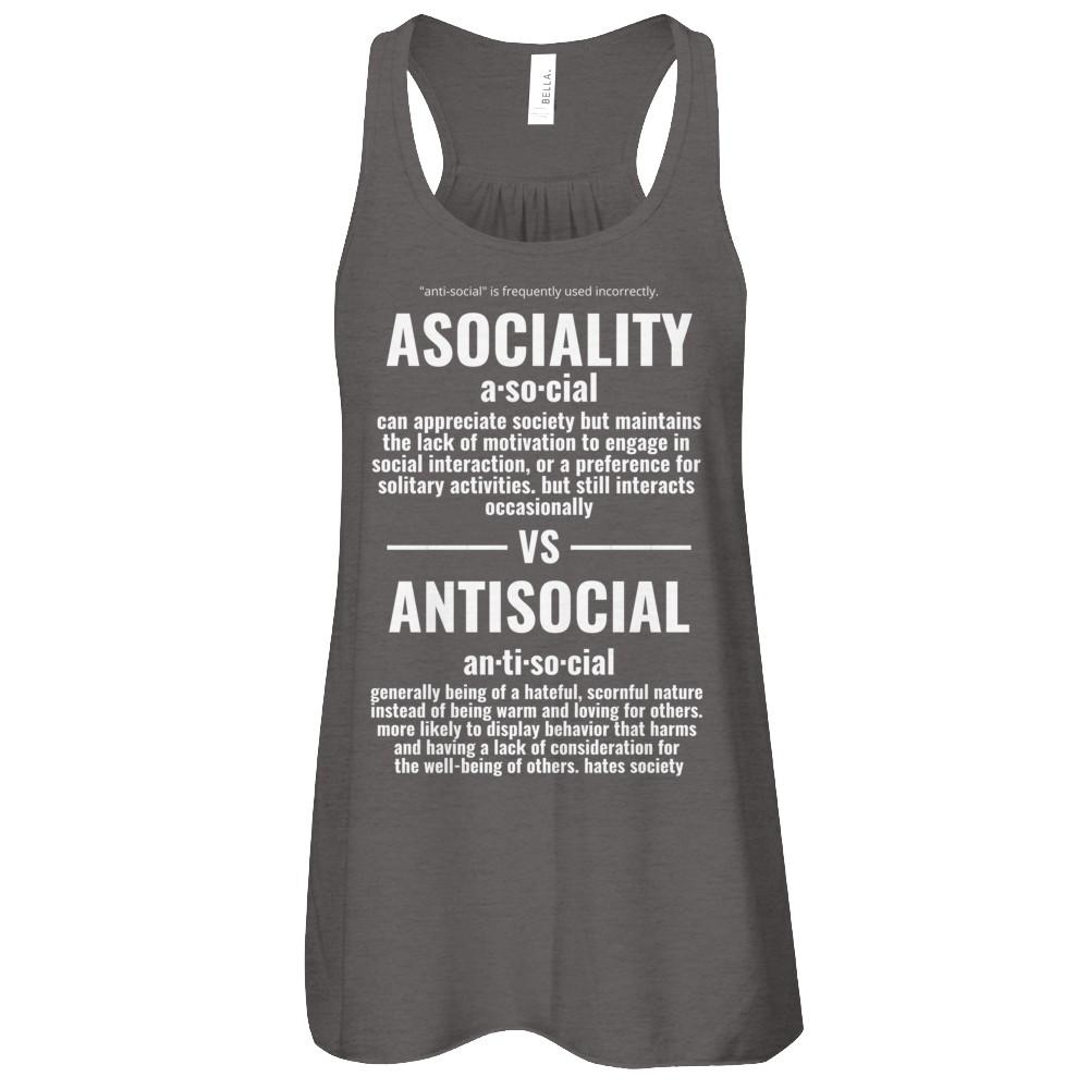 Asocial Vs. Antisocial