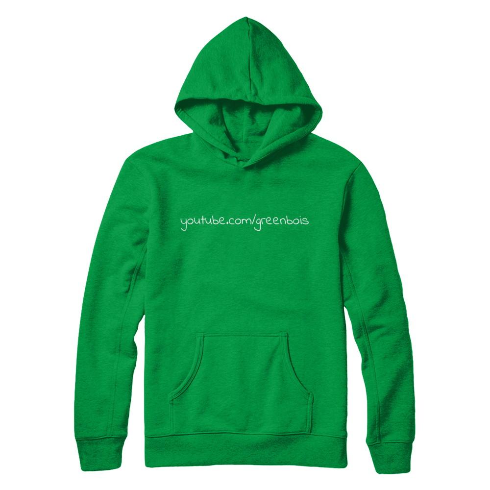 youtube.com/greenbois hoodie