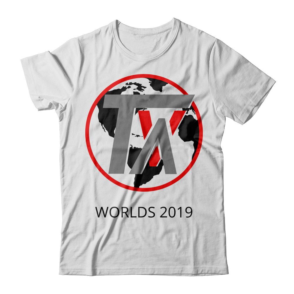 TVA Worlds 2019 White T-Shirt