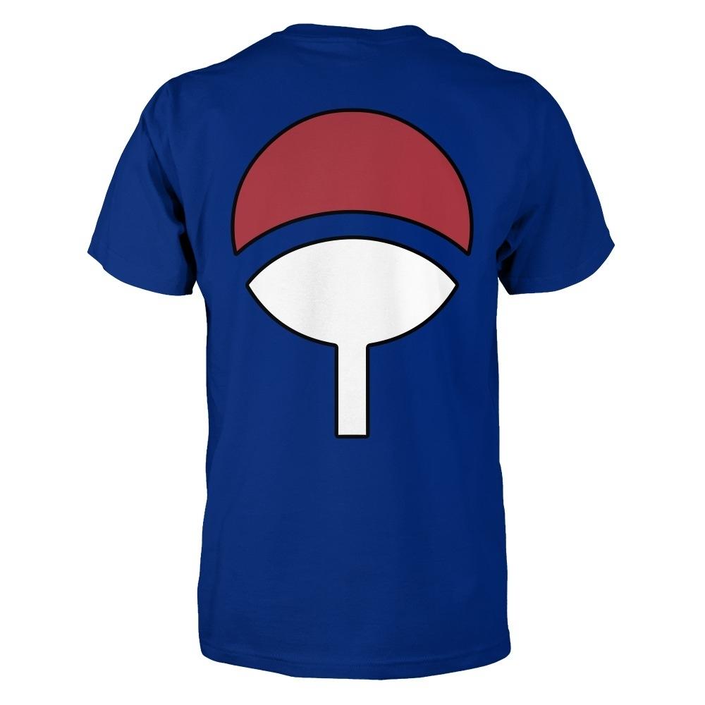Uchiha Clan Logo on the Back of Shirt