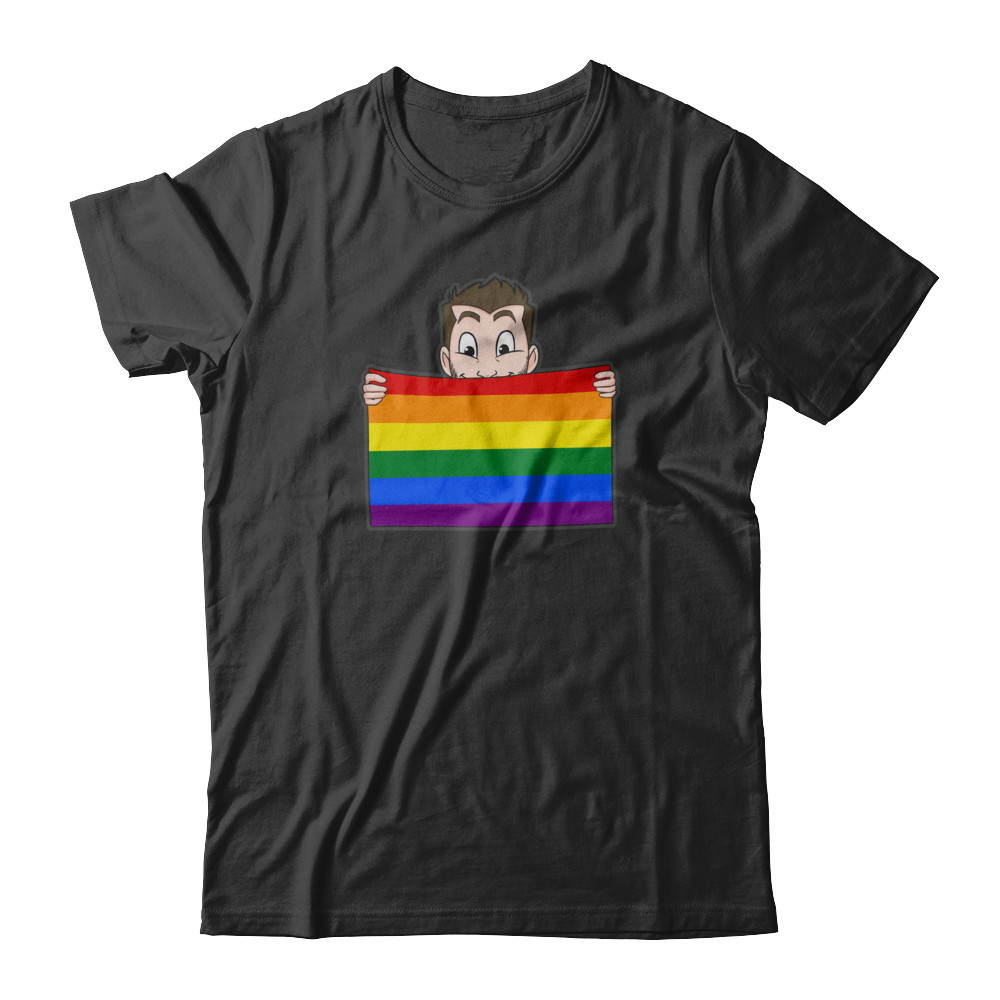 Short Sleeve (U) - Pride Flag w/o Brand
