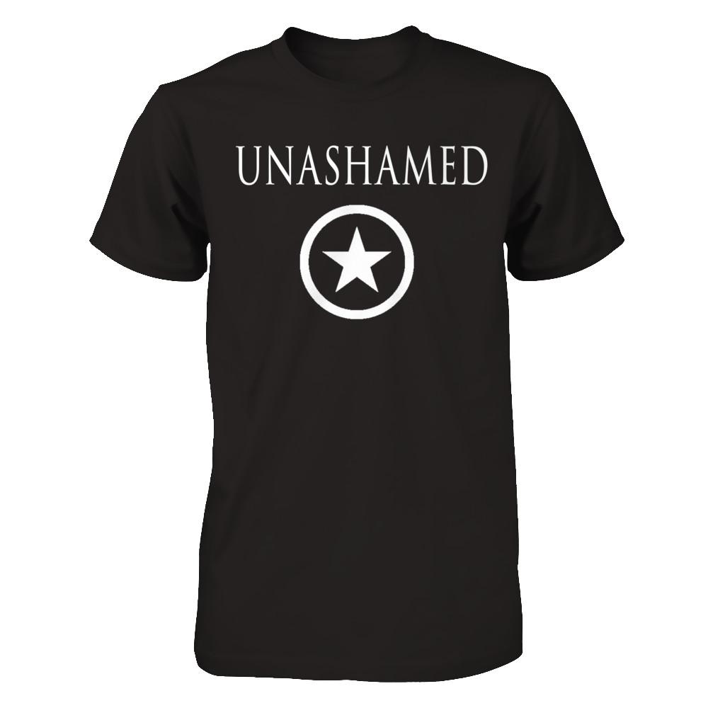 Black / Unashamed Star Tee.