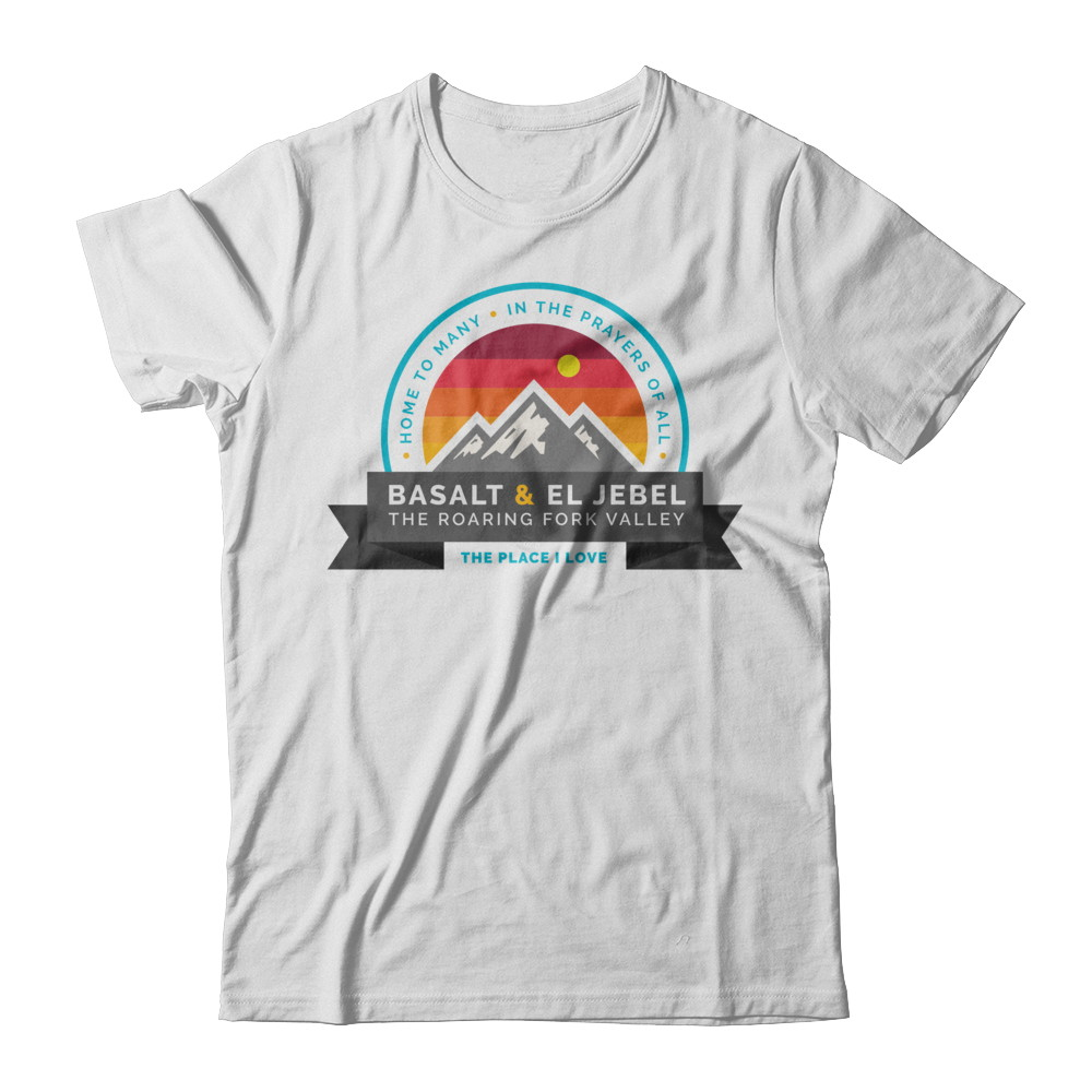 Support Basalt & El Jebel, Colorado T-Shirt
