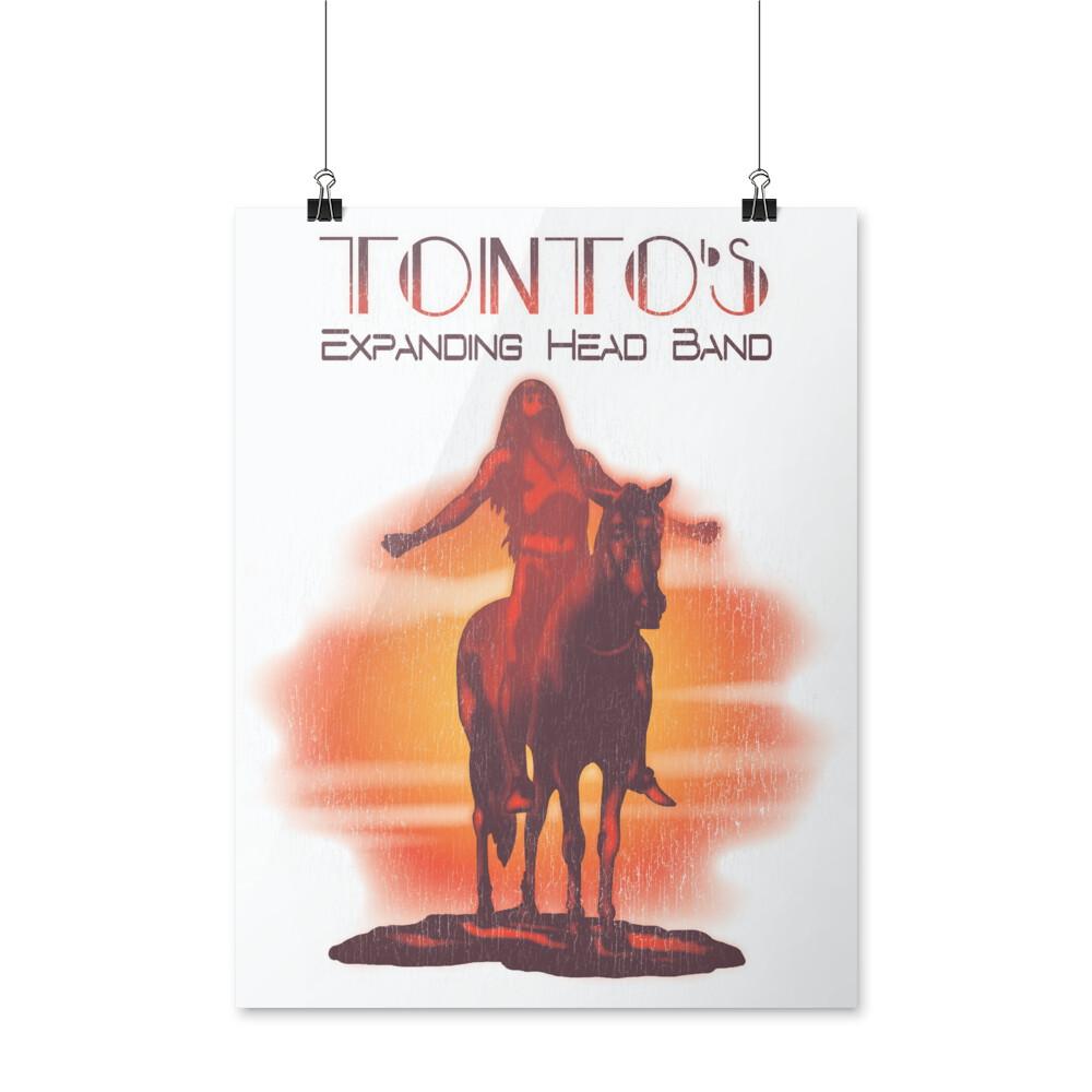 Tonto Celebratory Poster | Sample