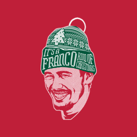 Official James Franco Holiday Sweater