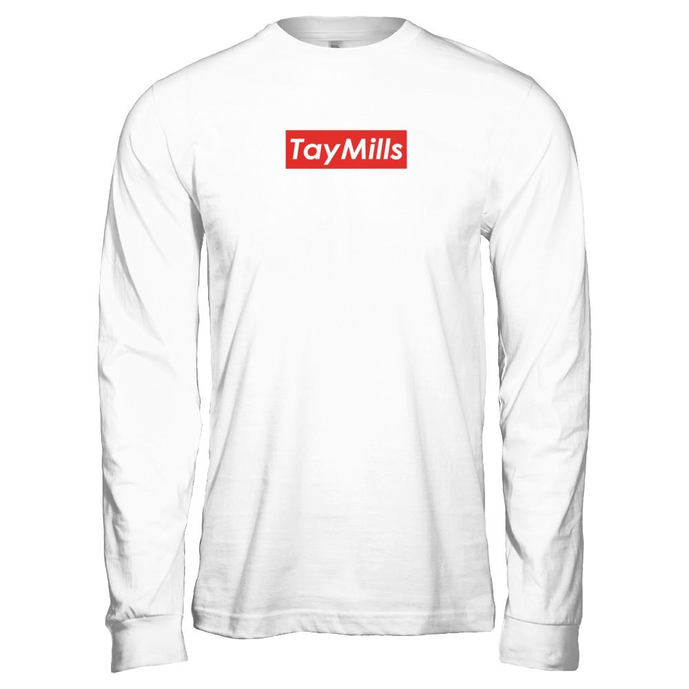 TayMills Box Logo Merch
