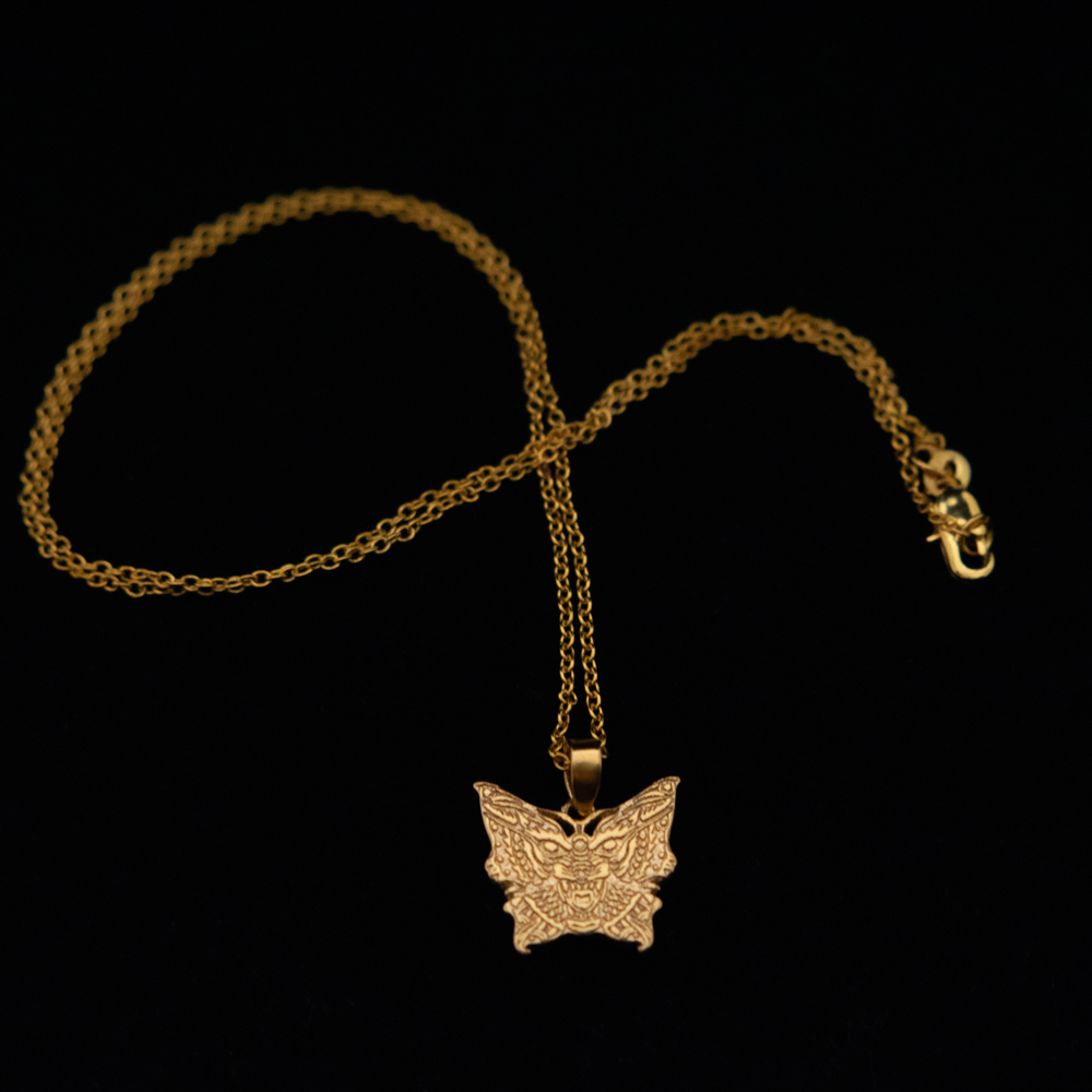 Wolfmoth Necklace