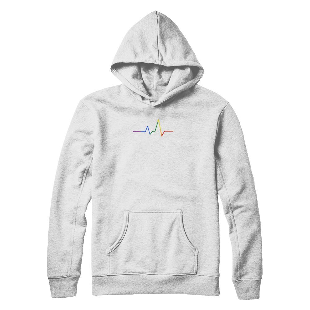 Heartbeat Sweatshirt (White)  919816e17