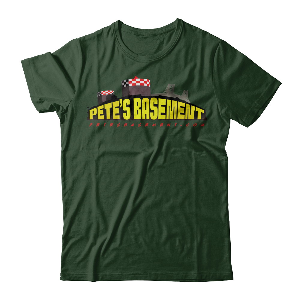 The Official Pete's Basement Logo Tee!