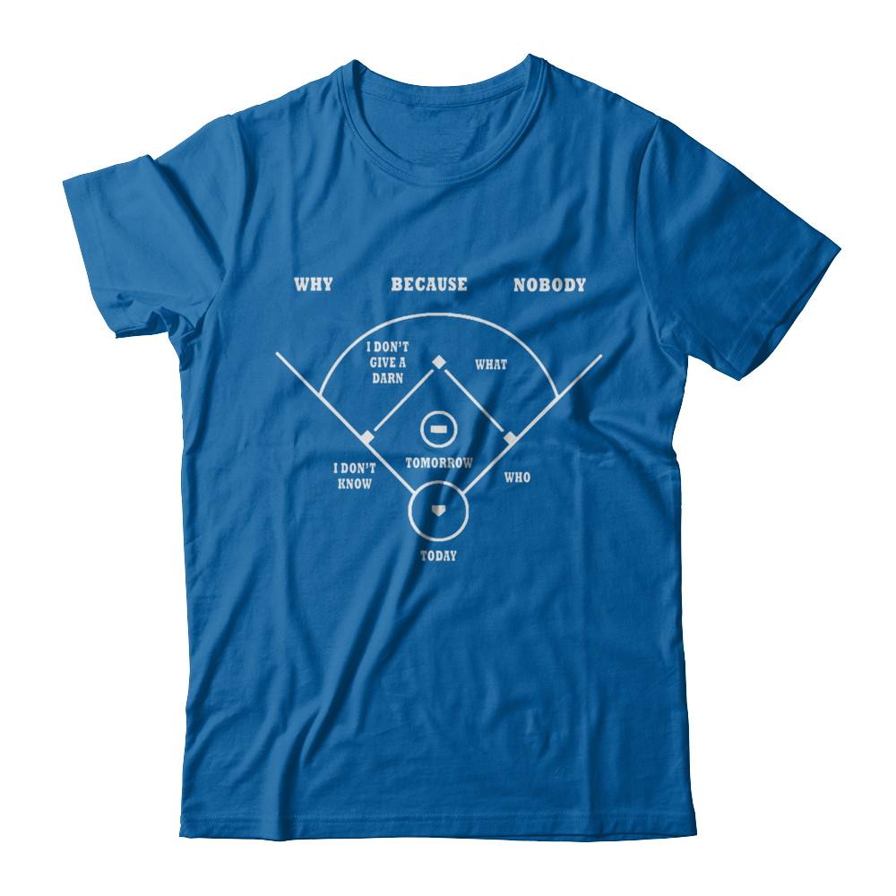 Why Because Nobody T-Shirt