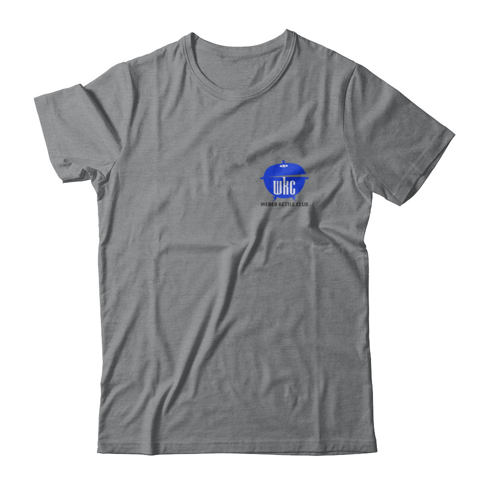 WKC Blue Logo - white / light shirts