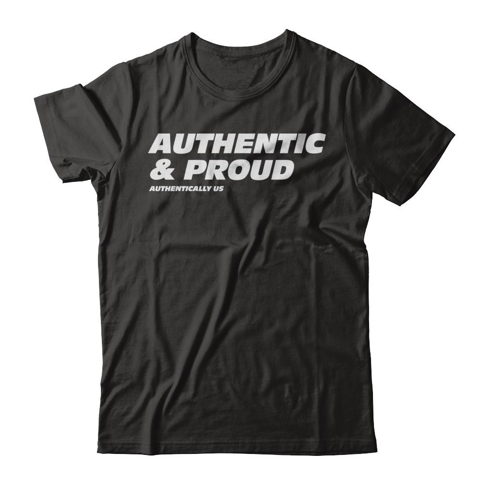 Authentic & Proud Tee